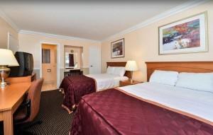 Americas Best Value Inn Oakland Lake Merritt - Well appointed Two Double room
